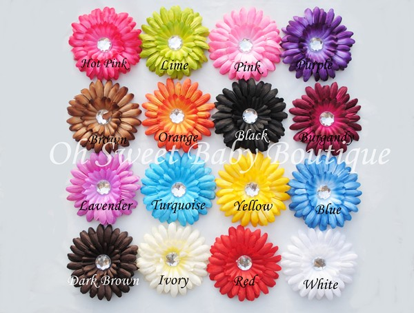 Crystal Daisies Dozen Grab Bag-