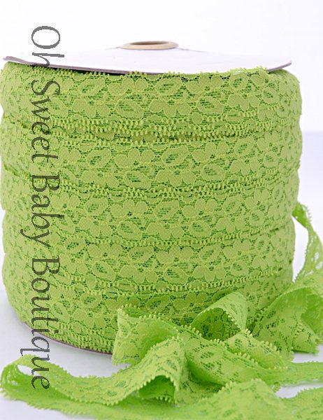 Apple Lace Elastic-