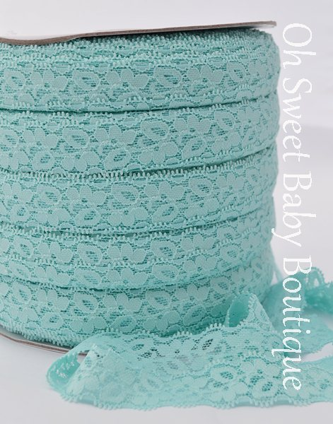 Aqua Lace Elastic-