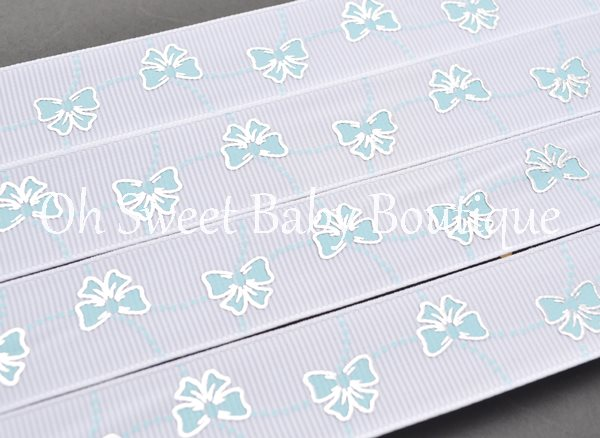 Cinderella Bows and Pearls Alice Blue-
