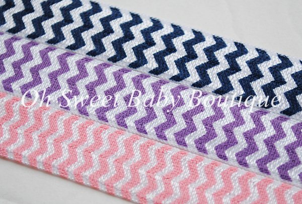 Chevron  FOE Fold Over Elastic-Chevron, printed, fold, over, elastic, hair, ties, headbands, foe, wholesale, roll, satin, bows, girls, yellow, gray, black, bulk