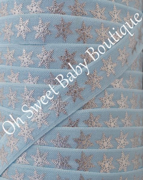 Foil Snowflake FOE Light Blue-