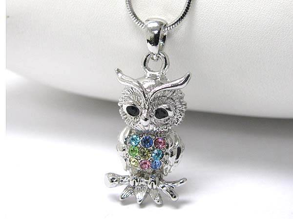 Owl Necklace-