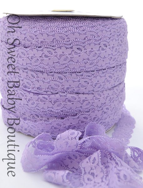 Lavender Lace Elastic-