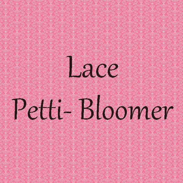 Lace Petti Bloomer