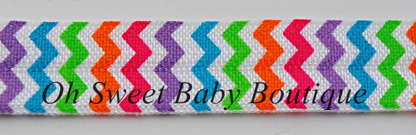 Neon Rainbow Chevron FOE-