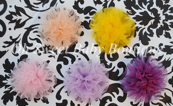 Organza Petti Puff-