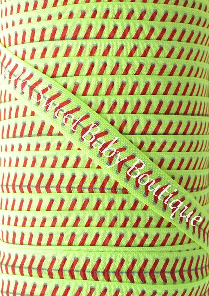 Softball FOE Neon Yellow-